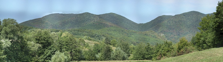 Гора Иванчица (Ivanchica mountain)